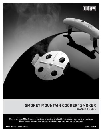 SMOKEY MOUNTAIN COOKER™ SMOKER - Home Depot