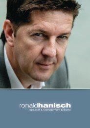 Profil downloaden - Ronald Hanisch
