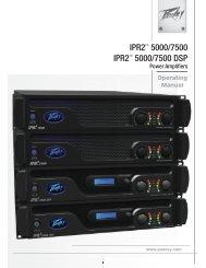 IPR2™ 5000/7500 DSP - Peavey