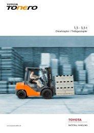 TOYOTA TONERO 15-35 - Toyota Material Handling Deutschland