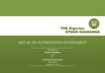 Ben Enwonwu_NSE_Art as an Investment_2014-11-15_vFinal