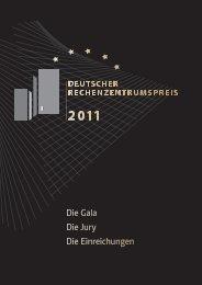 Deutscher Rechenzentrumspreis 2011