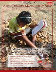 Mainstreaming disaster risk reduction (DRR) into ... - INEE Toolkit