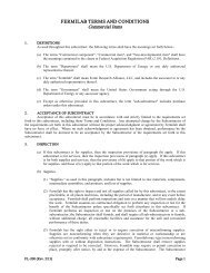Fermilab Terms and Conditions - Commercial Items