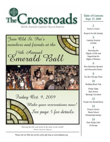 Emerald Ball - Old St. Patrick's Church
