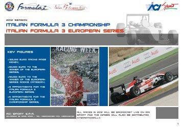 Presentation 2011 - ACI Sport Italia