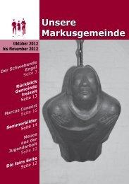 Konzert Markus-Consort am 11.11.12 - Evangelischer Kirchenkreis ...