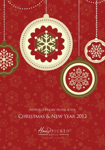 Christmas & New Year 2012 - Hand Picked Hotels