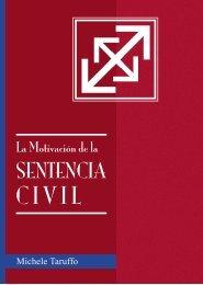 La Motivación de la Sentencia Civil - Tribunal Electoral del Poder ...