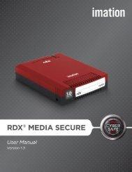 Imation RDX Media Secure User Manual