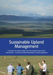 Sustainable Upland Management - The Macaulay Land Use ...