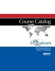 Course Catalog - Performance Review Institute