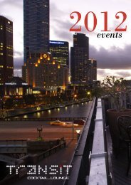 download events brochure - Transport Hotel