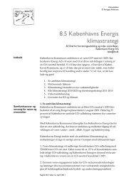 Københavns Energis Klimastrategi - Grontmij