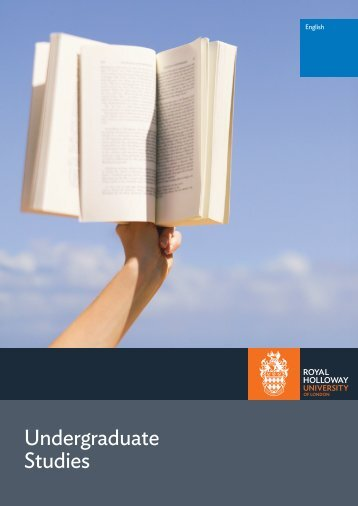 Download UG brochure - Royal Holloway, University of London