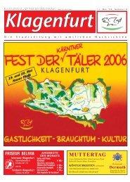 MUTTERTAG - Klagenfurt