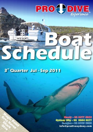 3rd Quarter Jul - Sep 2011 - Online Scuba Diving Booking System