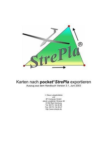 Auszug aus dem Handbuch als PDF - StrePla