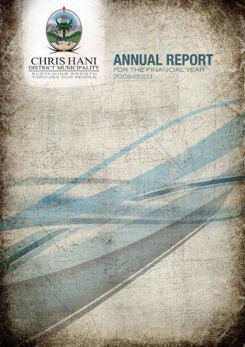 Entire Document - Chris Hani District Municipality