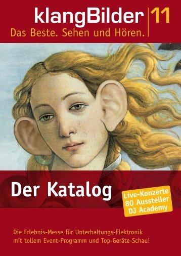 klangBilder|11 Katalog