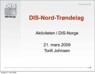 Torill Johnsen - DIS-Norge