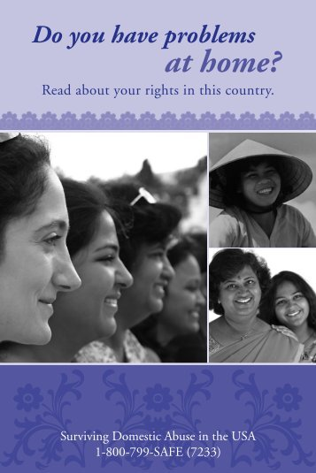 Do you have Problems at Home? Read about your rights in ... - asista