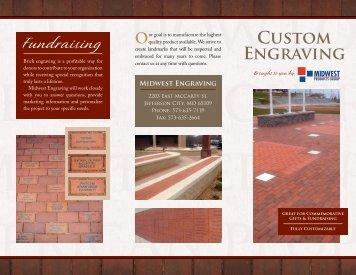 Custom Engraving Fundraising - Romanstone