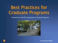 Welcome to the Graduate College - The Graduate College at Illinois