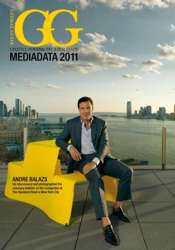 Andre Balazs - Global Guide - Lifestyle - Personalities - Real Estate