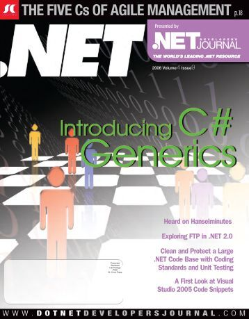 DNDJ 4-9.indd - sys-con.com's archive of magazines - SYS-CON ...