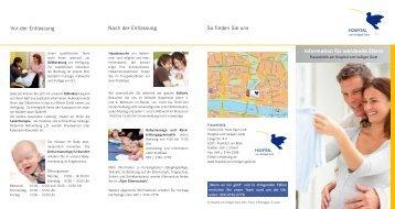 Information für werdende Eltern - Stiftung Hospital zum Heiligen Geist