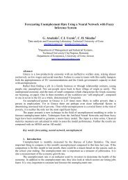 Forecasting Unemployment Rate Using a Neural ... - ResearchGate