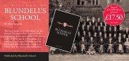 £17.50 - Blundell's School
