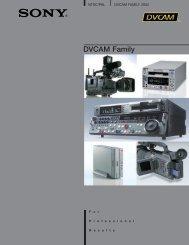 DVCAM Family
