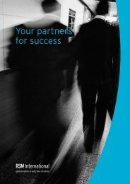 Your partners for success
