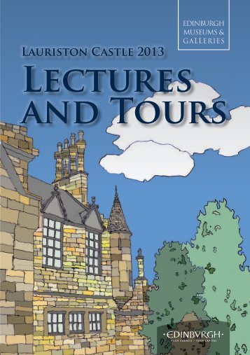 Download a pdf of the 2013 lectures brochure - Edinburgh Museums