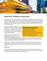 About Shell – Building an Energy Future - Universum Talent Networks