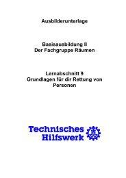 Grundlagen für die Rettung von Personen - THW Ortsverband ...
