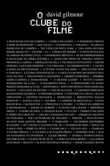Trecho: O Clube do Filme - Veja