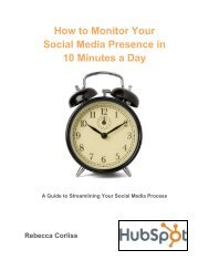 How to Monitor Your Social Media Presence in 10 Minutes a Day