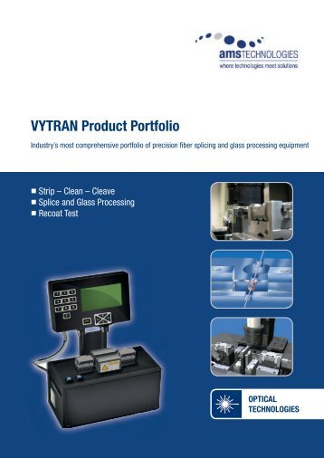 VYTRAN Product Portfolio - AMS Technologies