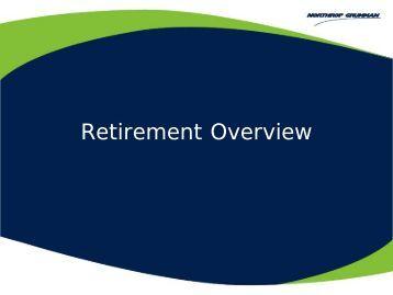 Northrop Pension Overview - Benefits Online