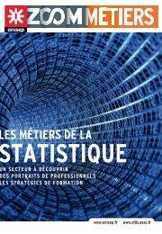 Les métiers de la statistique - Partenaires Onisep