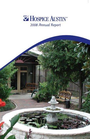 Annual Report - Hospice Austin