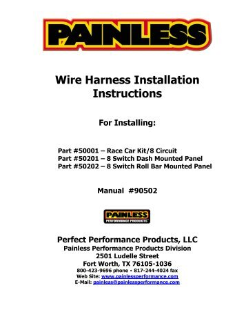 wire harness installation instructions jegs?quality\\\=85 motorcycle wiring harness diagram of performance wiring diagram painless motorcycle wiring harness at n-0.co