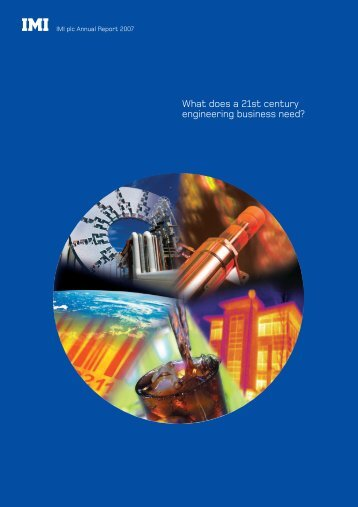 IMI plc - Annual Report 2007