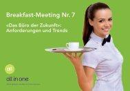 Breakfast-Meeting Nr. 7