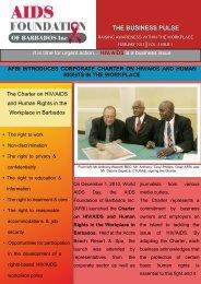 AFBI Newsletter Final - Barbados Small Business Association