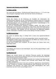 Satzung in der Fassung vom 12 - Alumni-Stralsund