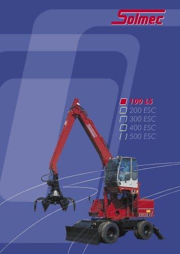 100 LS 200 ESC 300 ESC 400 ESC 500 ESC 100 LS - Solmec